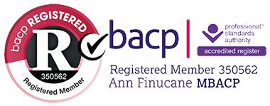 Ann Finucane, BACP member no. 350562