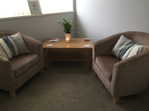 Nora House Psychotherapy and Counselling practice, therapy room 1