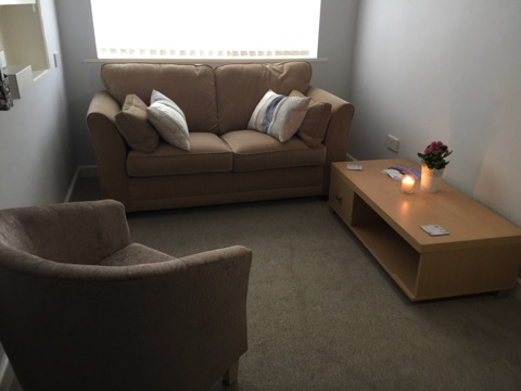 Nora House Psychotherapy and Counselling practice, therapy room 2